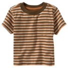Old Navy's Pocket Tee - Pumpkin Stripe