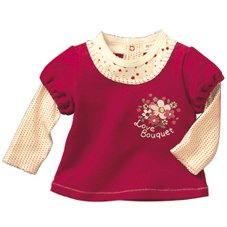Jshoppers' Autumn Top - Cherry Red