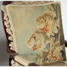 BIG Fish Aubusson Pillow ANTIQUE FRENCH DECOR Home Decorative Bed Chair Cushion