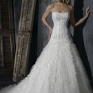 Gorgeous Sweetheart Strapless A-line Wedding Dress WN0387
