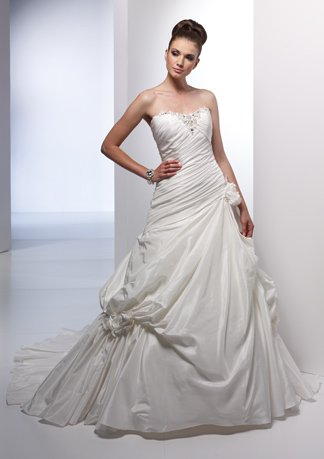 New Style Sweetheart Strapless Wedding Dress AI0012