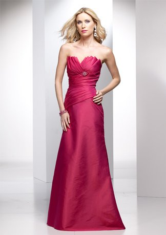 New Style Strapless A-line Wedding Dress AI0036