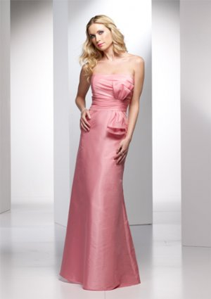 Nice Pleated Strapless Mermaid Wedding Dress AI0039