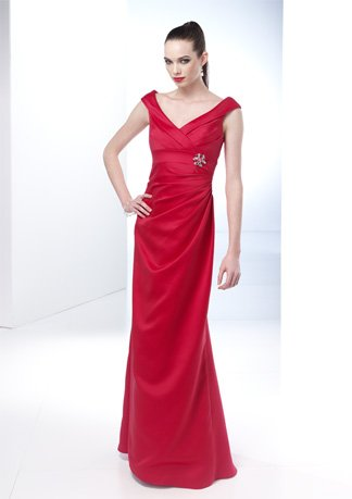 New Style Cap Sleeve V-neck Wedding Dress AI0042