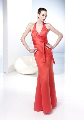 Halter V-neck Mermaid Style Wedding Dress AI0048