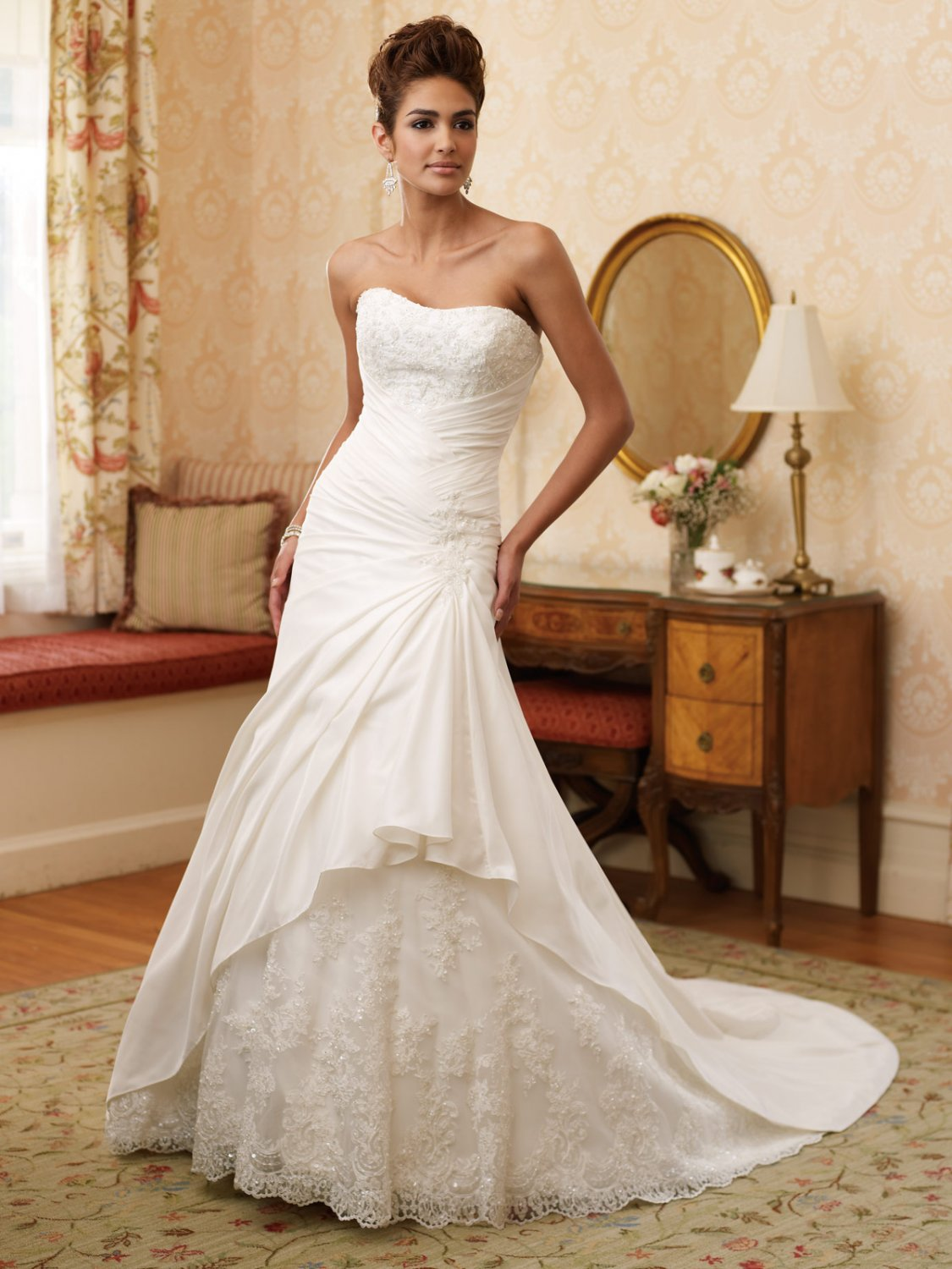 Wedding Dresses  Sweetheart Neckline Princess Gowns