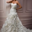 Stunning Gathered Sweetheart Strapless A-line Wedding Dress WM0019