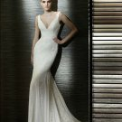 Wedding Dresses/ Wedding Gowns -- V-neck New Style Mermaid Wedding Dress SB0010