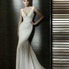 Wedding Dresses/ Wedding Gowns -- V-neck New Style Mermaid Wedding Dress SB0010