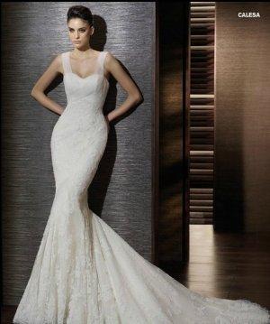 Wedding Dresses/ Wedding Gowns -- Sweetheart Mermaid Lace Wedding Dress SB0011