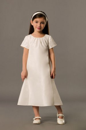 Cute and Lovely T-length Wedding Dress Girl Dress VG0010