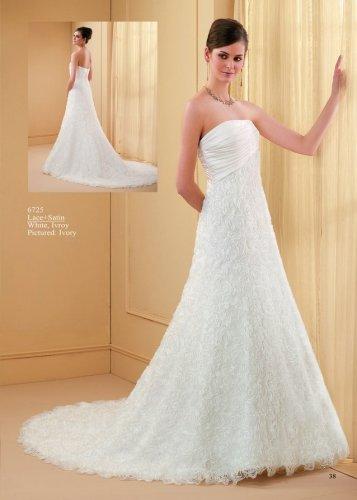 Stunning Strapless A-line Wedding Dress AM0031