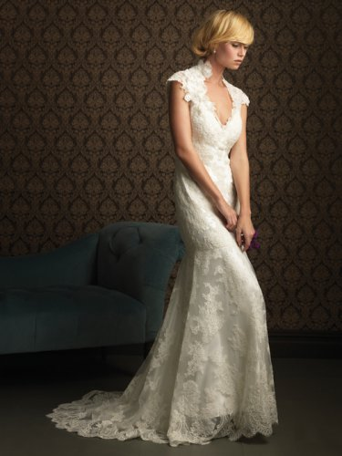 Wedding Dresses/ Wedding Gowns -- Stunning Lace Bridal Gown AL0026