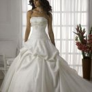 Gorgeous Stack-up Strapless Organza Wedding Dress JC0019