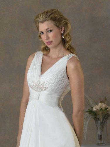 Futago Dress BW0019 Sleeveless V-neck Wedding Dress