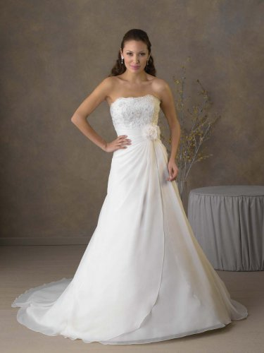 Futago Dress BW0016 Strapless A-line Wedding Dress