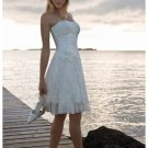 Wedding Dresses/ Wedding Gowns -- Stunning Short Bridal Gown WS0030