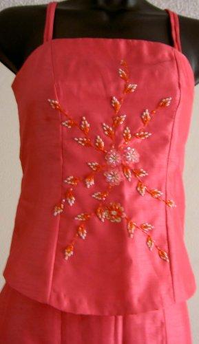 Dark Carnation Pink 2piece Dress