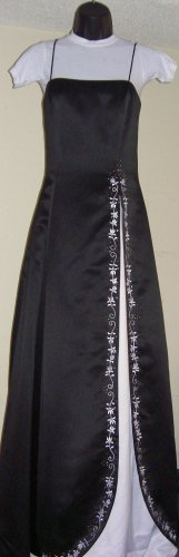 Black/White Prom Dress