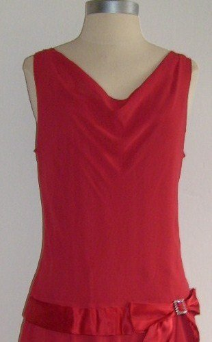 Red Flapper Inspired Dress by Chadwick�s: Size 10 ~ SOLD