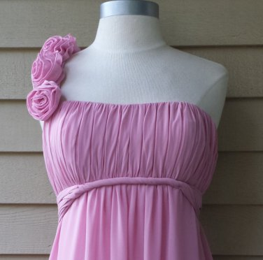 Alexia Designs Dusty Rose Bridesmaids Dress Sample Size 2