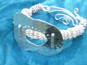 Sterling Silver and Fine Silver Bracelet
