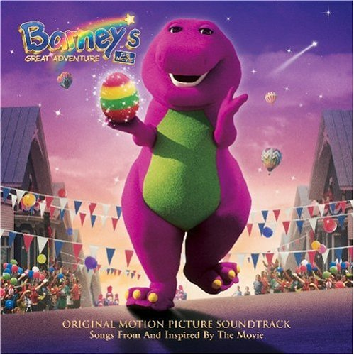 Barney's Great Adventure - The Movie Original Motion Picture Soundtrack Cassette Tape