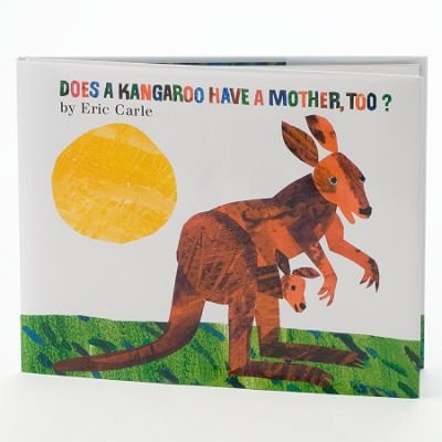"Kohl's Cares for Kids Eric Carle Book ""Does a Kangaroo Have a Mother, Too?"""