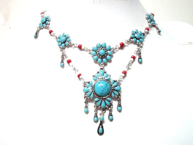 *FREE SHIPPING* NA11 ETHNIC TRIBAL DANGLE PENDANT NECKLACE 50cm _cOOl!!_SPECIAL OFFER!!