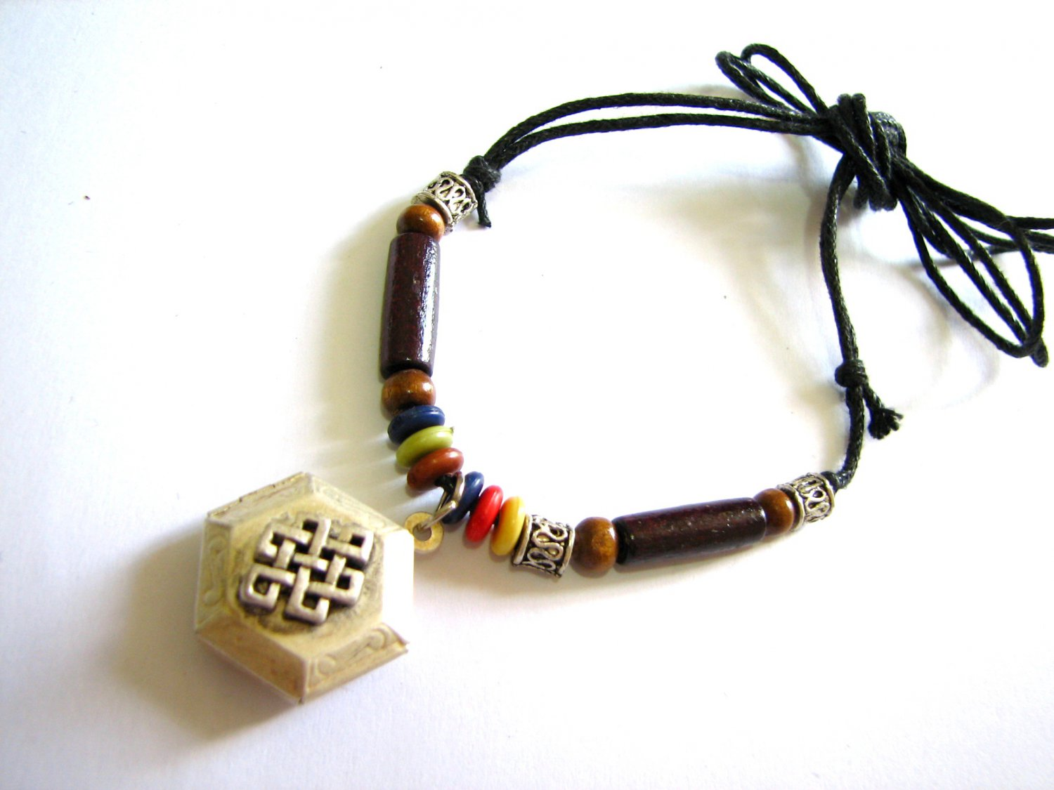 *FREE SHIPPING*NA966 ETHNIC TRIBAL PENDANT STRING NECKLACE 45-78cm