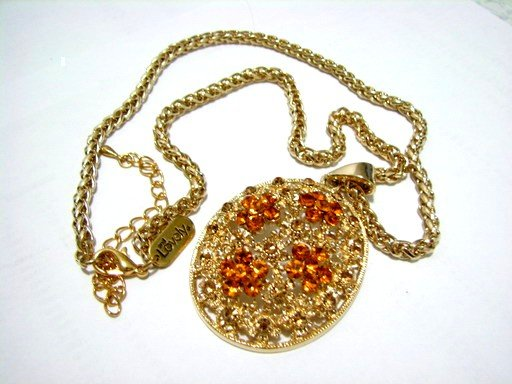*FREE SHIPPING*NB576 ETHNIC JEWELRY PENDANT DANGLE NECKLACE 18 in.