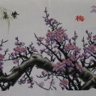 Chinese Plum Blossom_Finished Handmade Cross Stitch