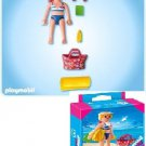 P-C PLAYMOBIL 4695 BATHING SUIT TOURIST& BEACH BAG,BOOK,TOWEL NEW&SEALED BOX SPECIAL