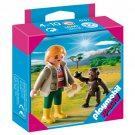 P-C PLAYMOBIL 4757 ZOO-KEEPER&GORILLA BABY BOTTLE FEEDING NEW&SEALED BOX SPECIAL SET