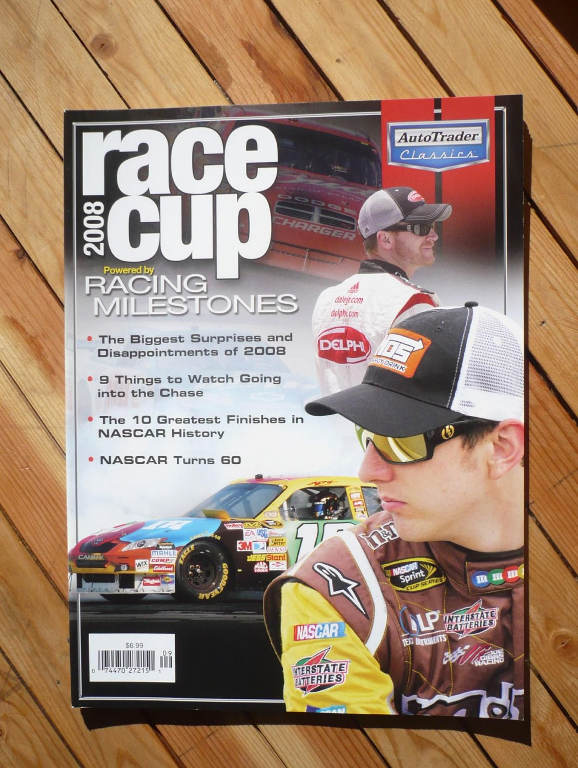 RACING MILESTONES magazine : RACE CUP 2008 issue