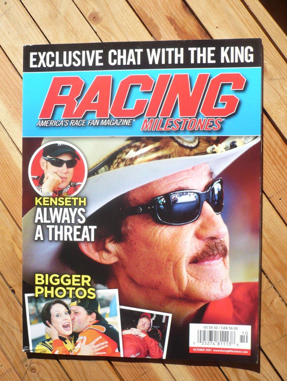 RACING MILESTONES magazine : October 2007