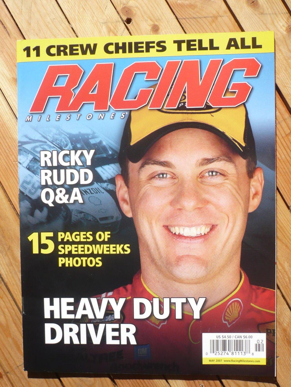 RACING MILESTONES magazine : May 2007