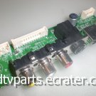 EBR35341503, EAX34772502(0), LA73A, SIDE AV INPUT for LG 42LB5D, 42LB5DF-UL