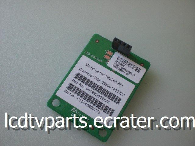 0980-0140-0020, 3753-26000102R, Wifi for VIZIO SV422XVT