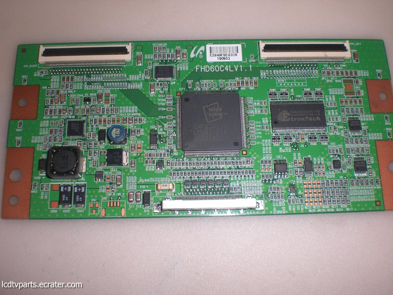 FHD60C4LV1.1, LJ94-02849F, T-Con Board for SAMSUNG LN40B550K1FXZA