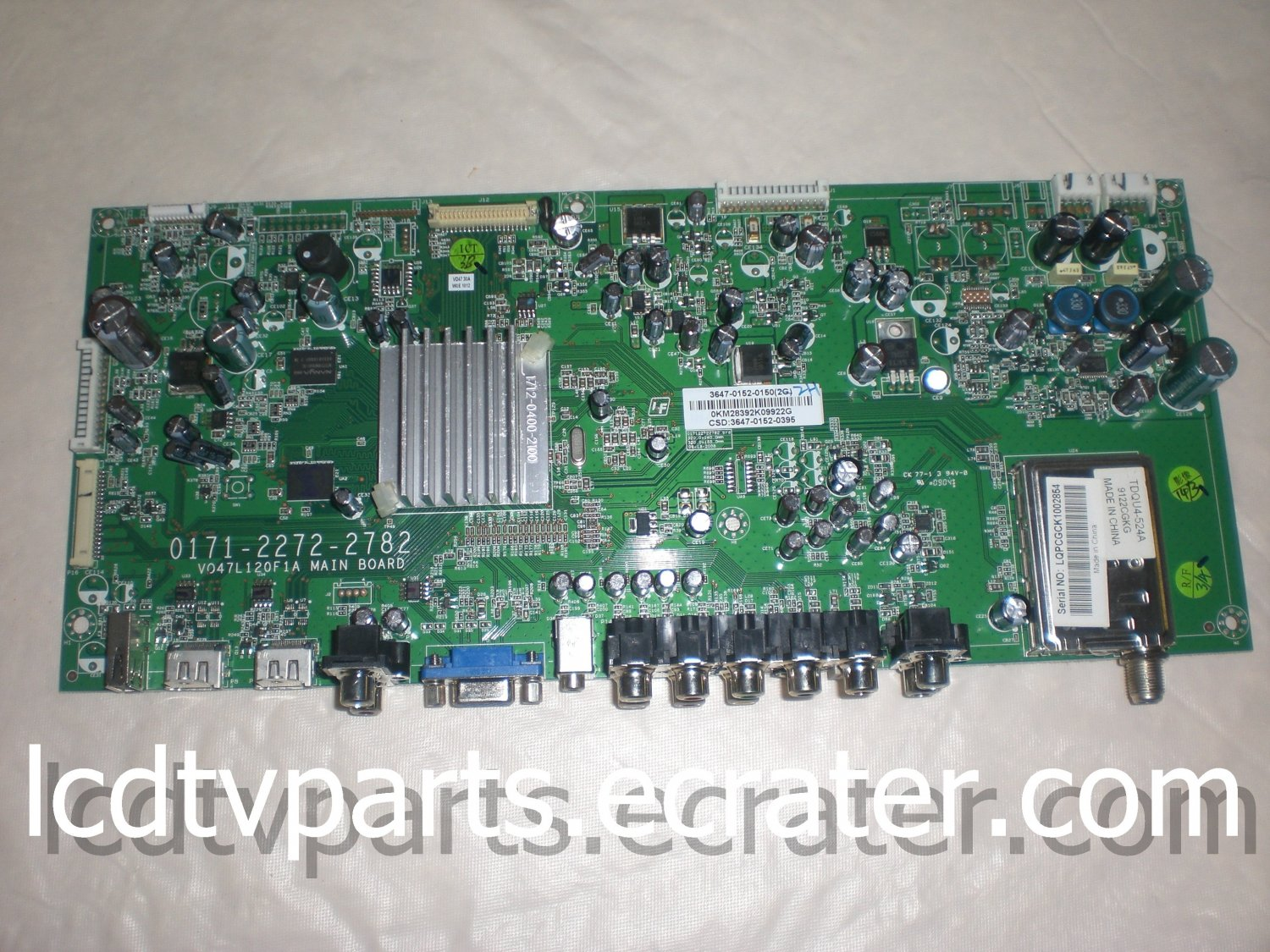 3647-0152-0395, 3647-0152-0150, 0171-2272-2782, Main Board for VIZIO VO47L FHDTV30A