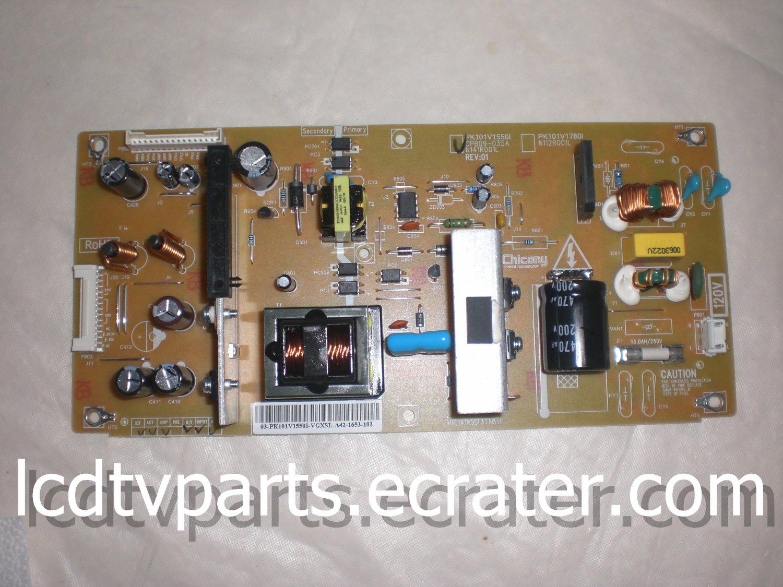 75017704, PK101V1550I, CPB09-035A, 9MC141R00FATN3 LF, Power Supply for  TOSHIBA 32C100U1