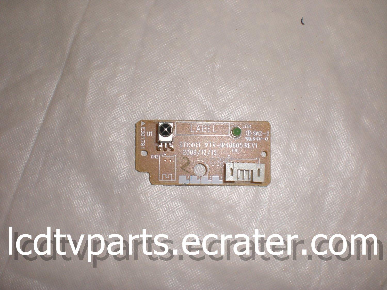 STC40T VTV-IR40605 REV1, LED IR ASSY For TOSHIBA 32C100U1