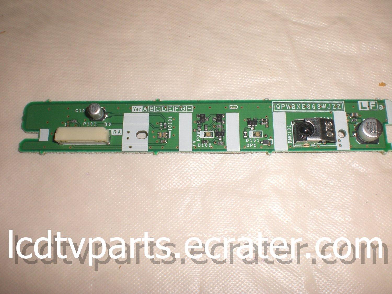 DUNTKC868FM01, QPWBXE868WJZZ, KE868, GF201, LED IR ASSY For SHARP LC-46D65U, LC46D65U