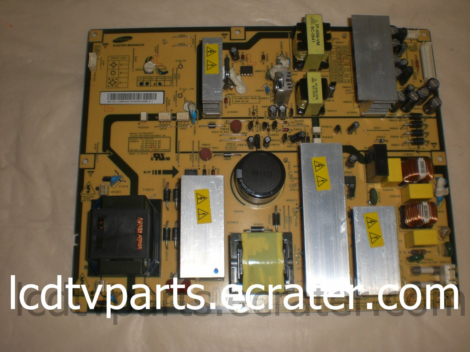 BN44-00140A, CS61-0250-10A, IP-280135A, BN44-00140, Power Supply for SAMSUNG LNS4095DX/XAA