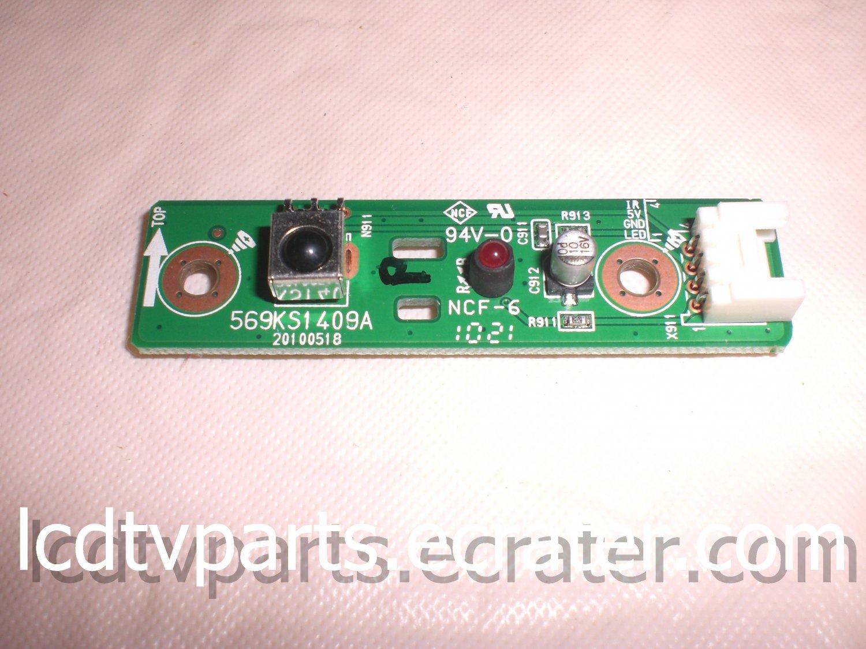 569KS1409A, 20100518, LED IR ASSY For DYNEX DX-32L151A11