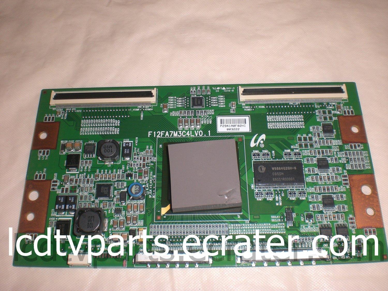 LJ94-02941A, F12FA7M3C4L V0.1, P2941A0F02HI 003222, T-Con Board for TOSHIBA 46G300U1