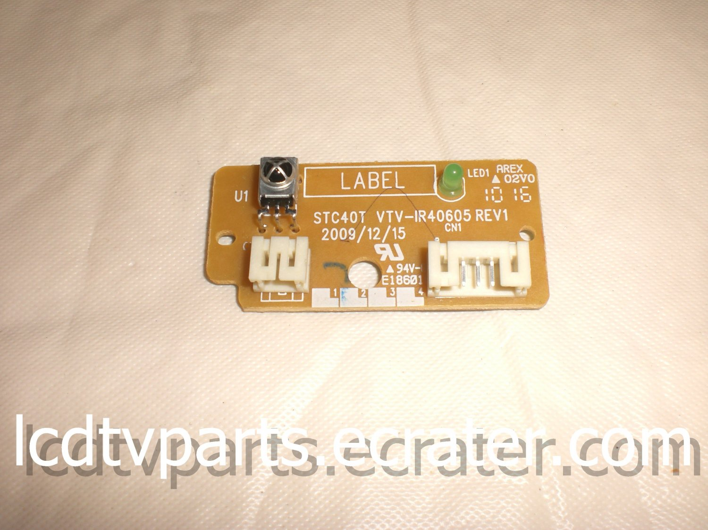 75017639, STC40T VTV-IR40605 REV1, LED IR ASSY For TOSHIBA 46G300U1