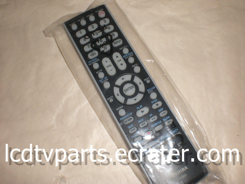 75010932, CT-90302, PK11V01110I-VTSBM-00-100205, Original Remote Control for TOSHIBA 46G300U1