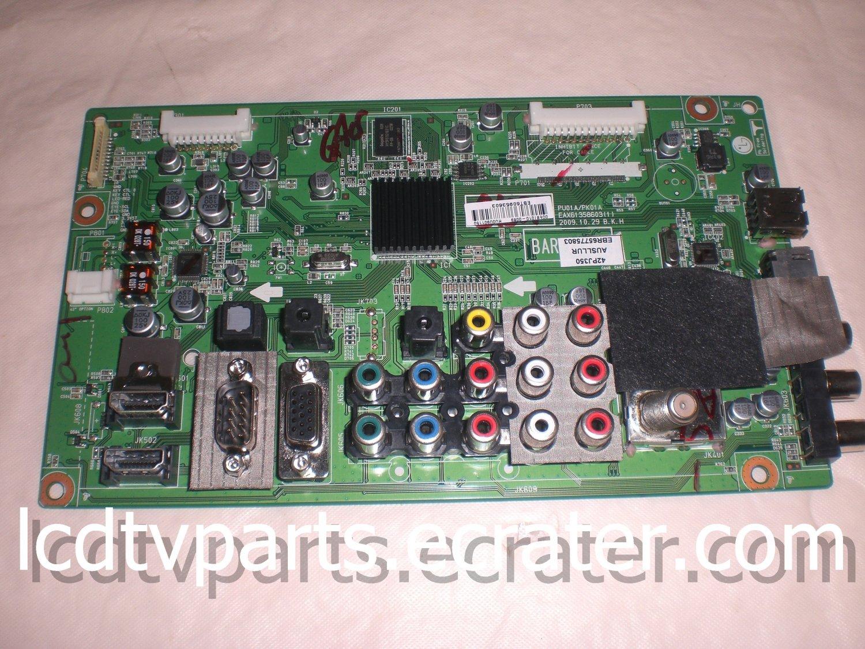 EBT60953602,CRB30918301,EAX61358603(1),EBT60953603, Main Board for LG 42PJ350